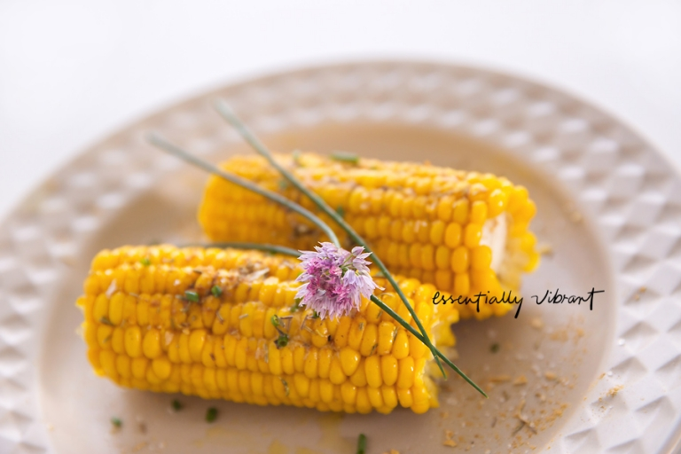 spiced corn cob
