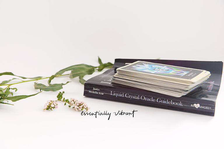 liquid crystal oracle cards
